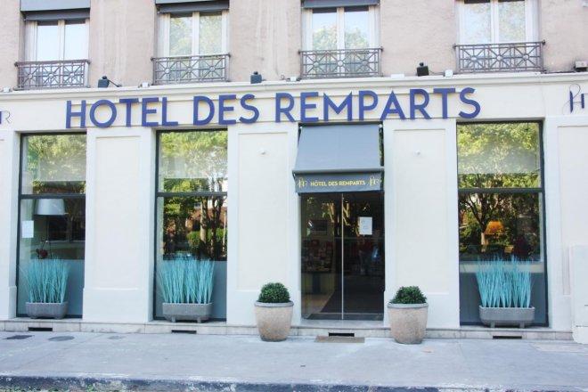 Hotel Des Remparts Perrache Lyon France