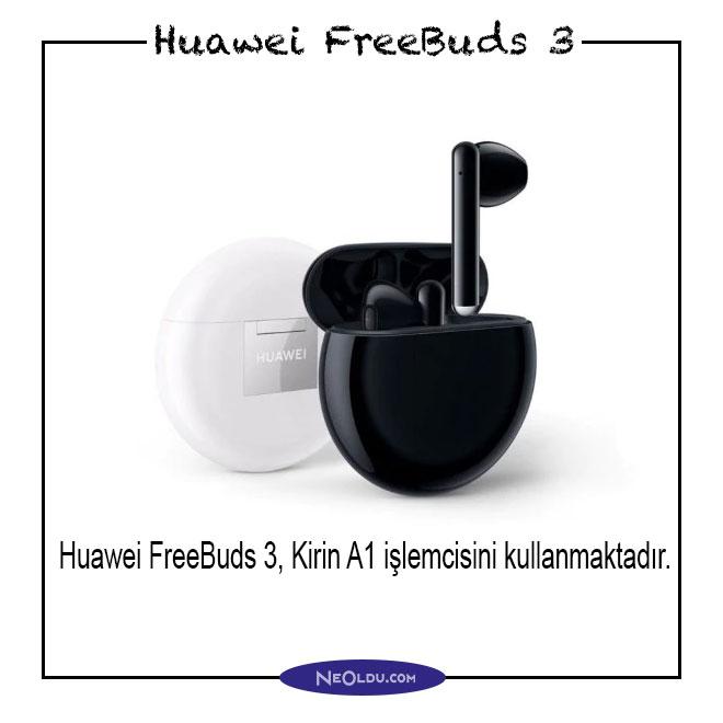 Huawei FreeBuds 3 Özellikleri