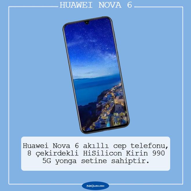 Huawei Nova 6 5G İnceleme