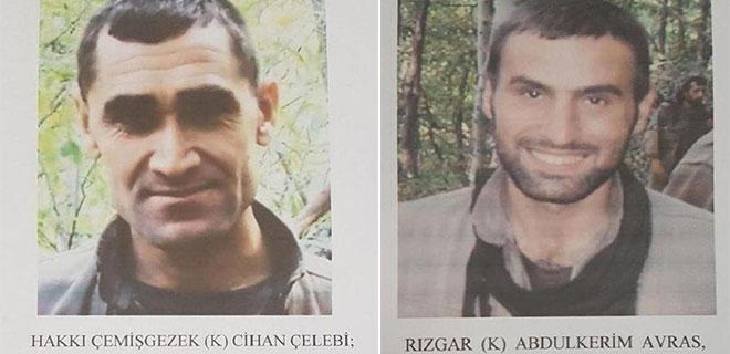 İçişleri Bakanlığı Yakalanan Teröristler