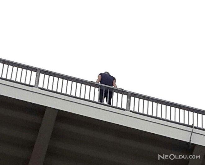 intihara kalkıştı