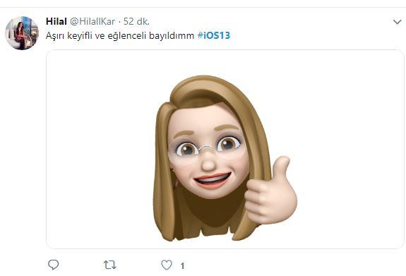 ios 13 kullanıcı yorumları