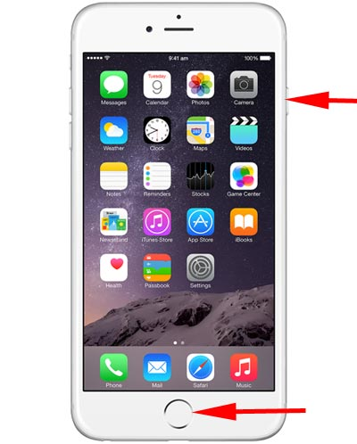 iPhone 6 Ekran Görüntüsü Alma