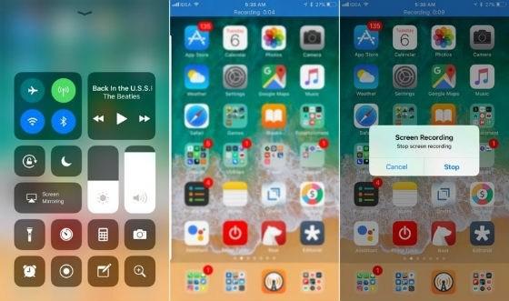 iphone bilinmeyen özellikleri ekran kaydı