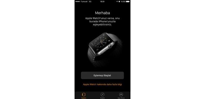 Apple Watch Uygulaması
