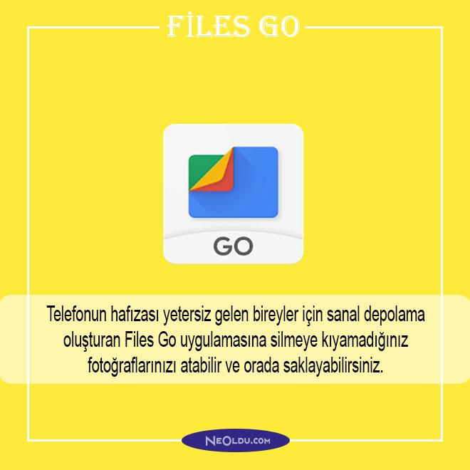 Files Go uygulama öneri