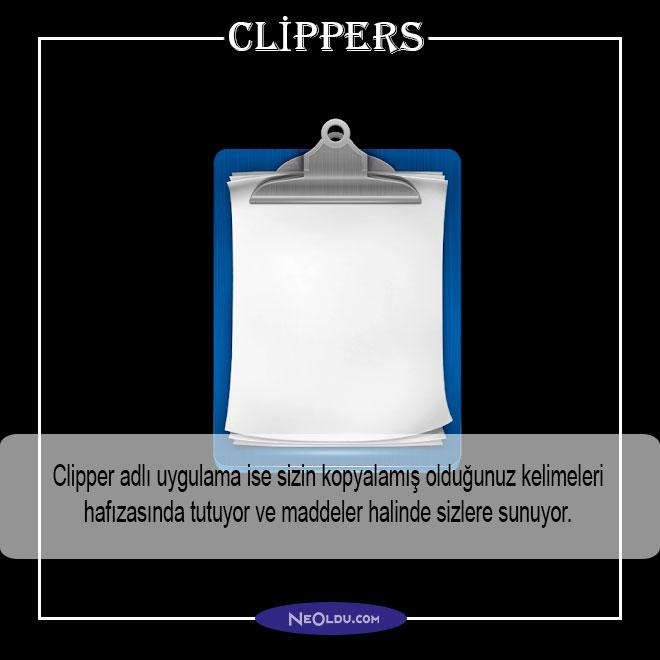 clipper uygulama öneri