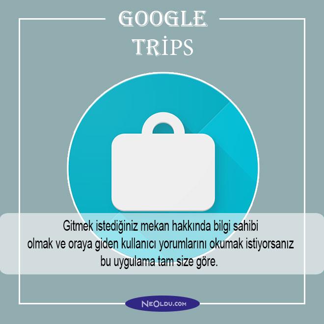 google trips uygulama öneri