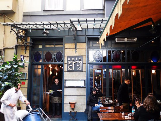 istanbul lüks cafeleri ara kafe