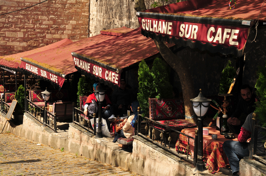 istanbul tarihi ve eski kafeler