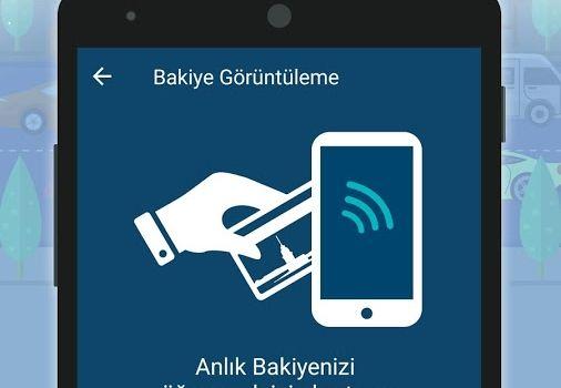 istanbul kart uygulaması bakiye sorgulama