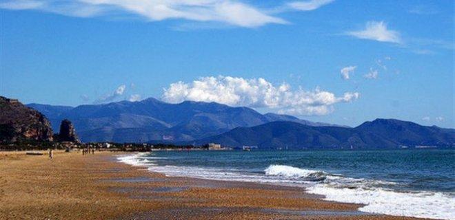 Terracina Beach İtalya