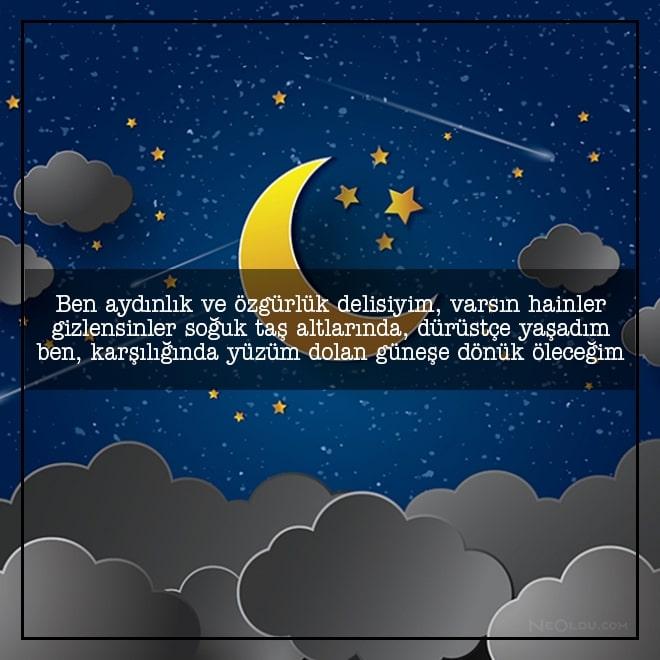 iyi geceler sözleri mesajları