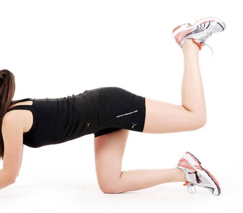 Kalça Sıkıştırma Egzersizi