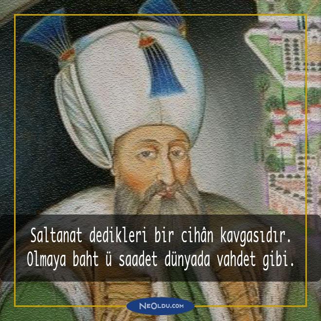 Kanuni Sultan SüleymanSözleri