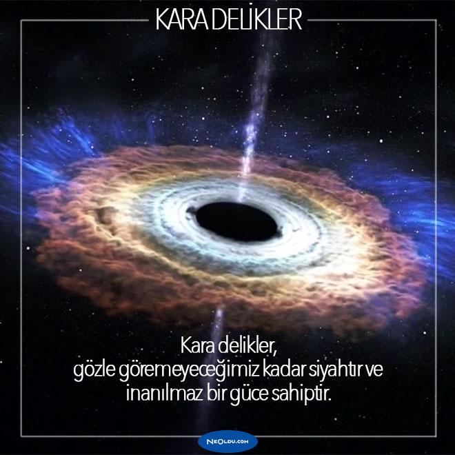 kara delikler hakkında bilgi
