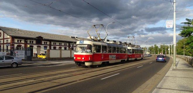 Karlovy Vary'de Ulaşım