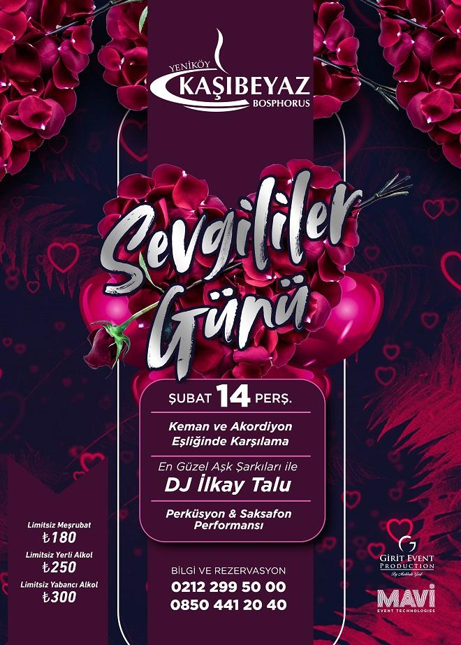 Kaşıbeyaz Bosphorus sevgililer günü