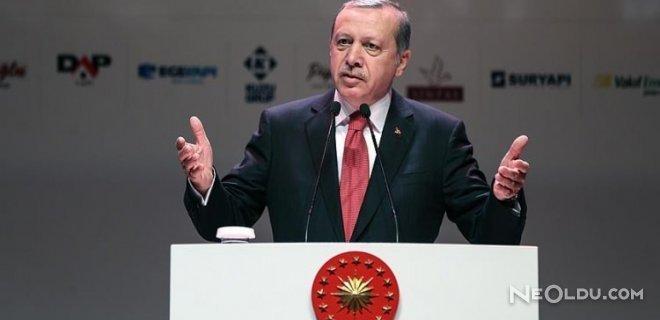 erdoğan kürsü konuşması
