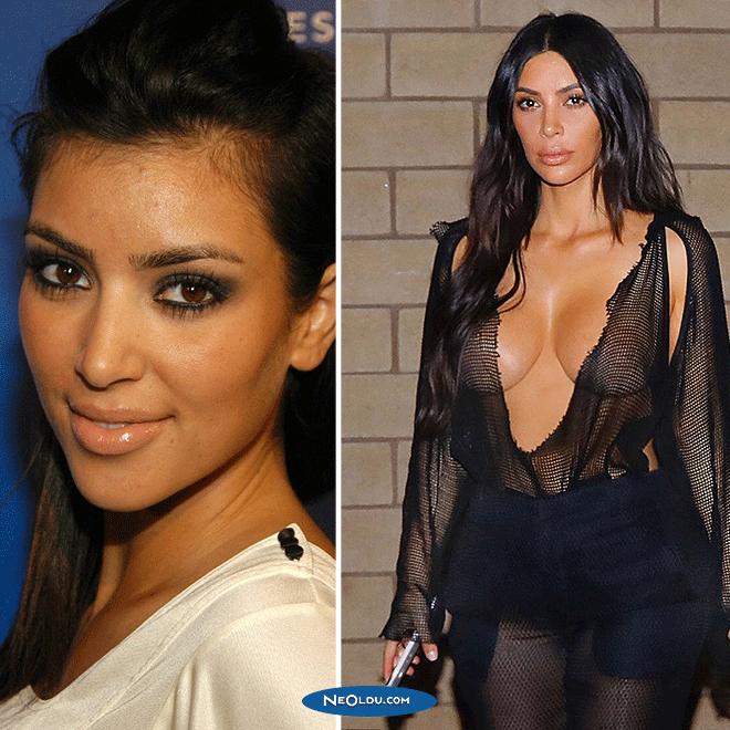Kim Kardashian Eski Hali