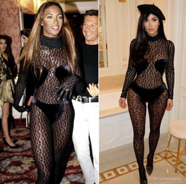 Kim Kardashian Naomi Campbell