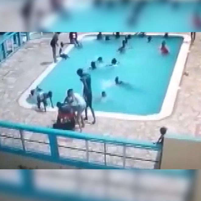 Kız Arkadaşını Havuzda Boğdu