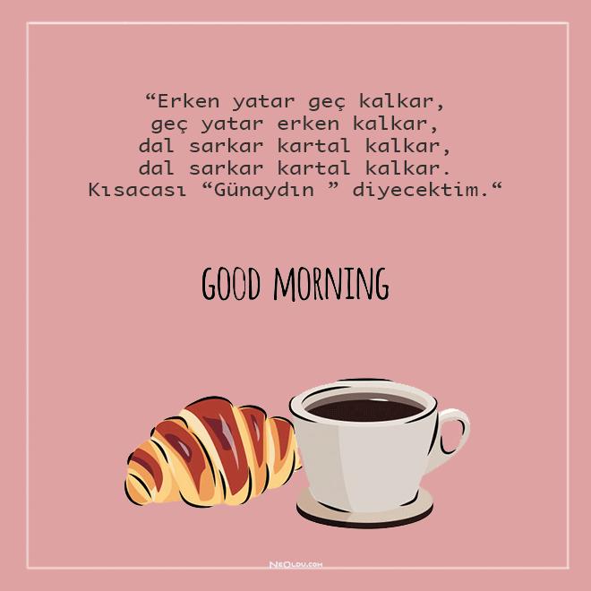komik günaydın mesajları