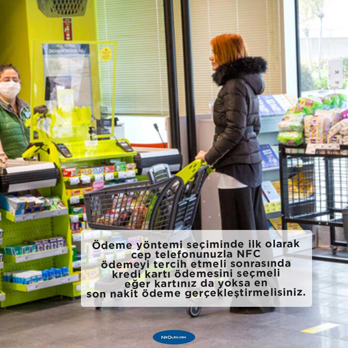 Koronavirüs Salgınında Güvenli Alışveriş