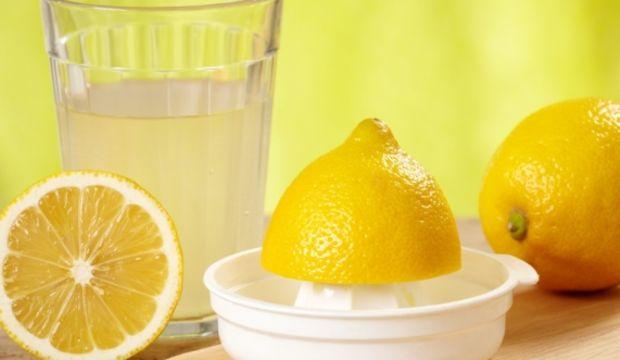 balgam sökücü limon suyu