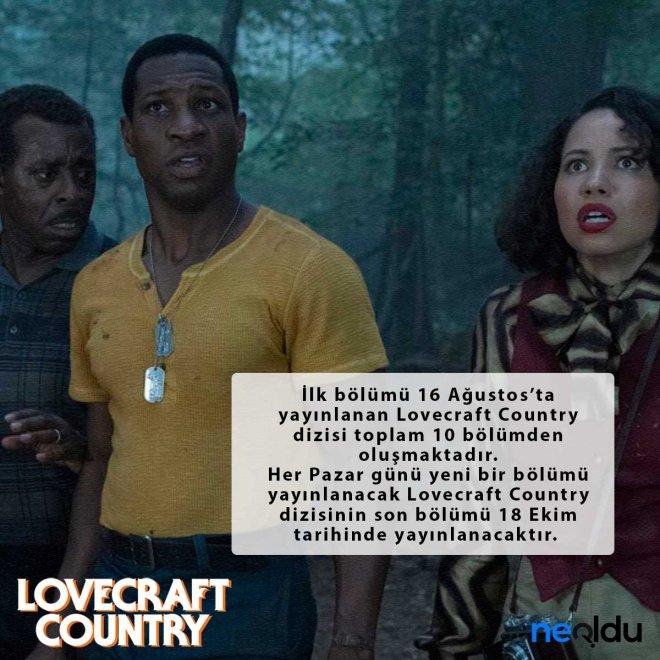 lovecraft country yayın tarihi