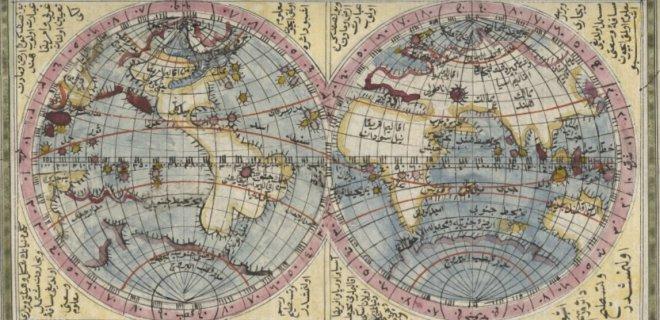 marifetname içerisinde yer alan harita