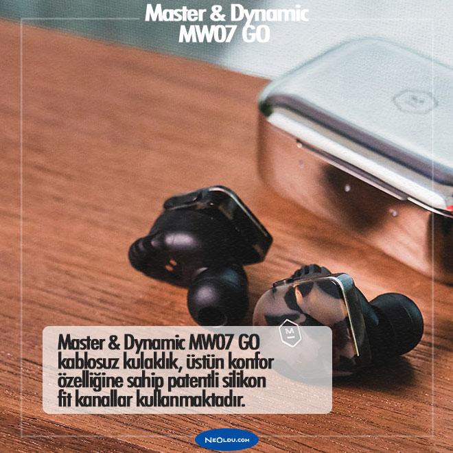 Master & Dynamic MW07 GO Kablosuz Kulaklık