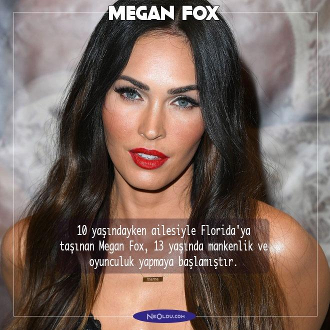 Megan Fox Hakkında İlginç Bilgi