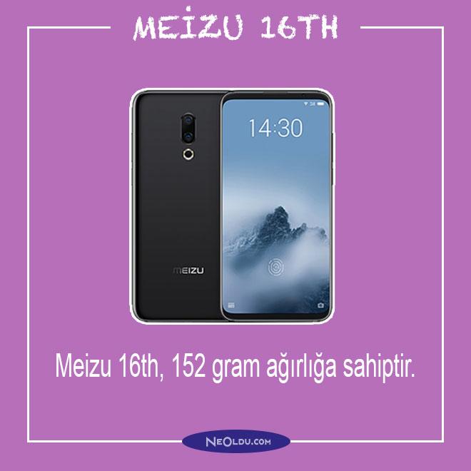 Meizu 16th Özellikleri