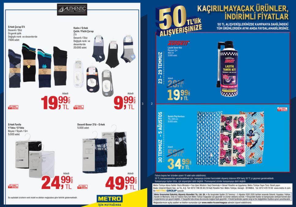 Metro Katalog 23 Temmuz - 5 Ağustos 2020