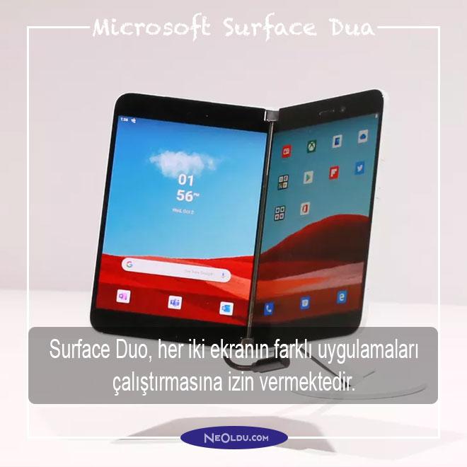 Microsoft Surface Duo Özellikleri
