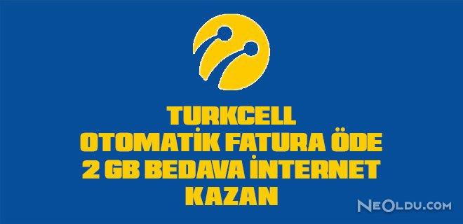 turkcell otomatik ödeme talimatı bedava internet
