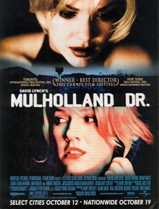 mulholland driver poster