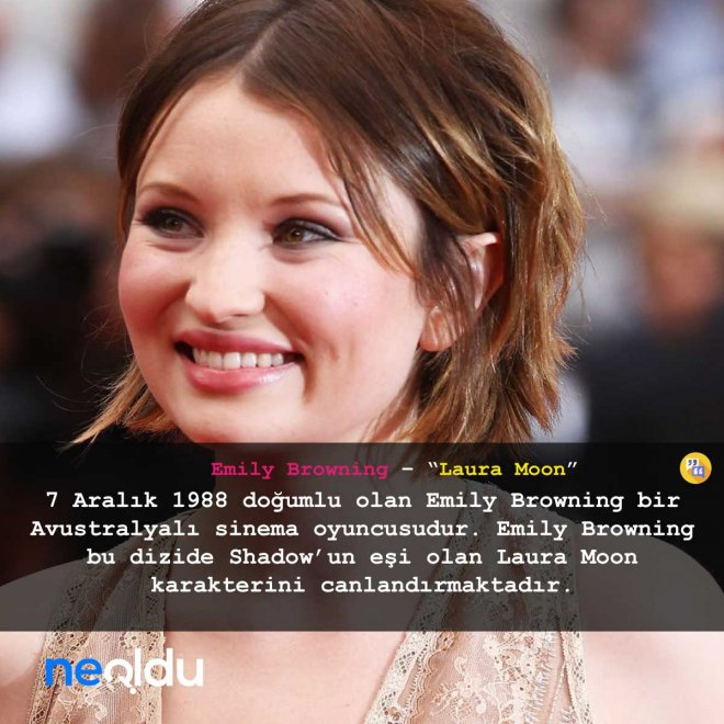 Emily Browning – Laura Moon