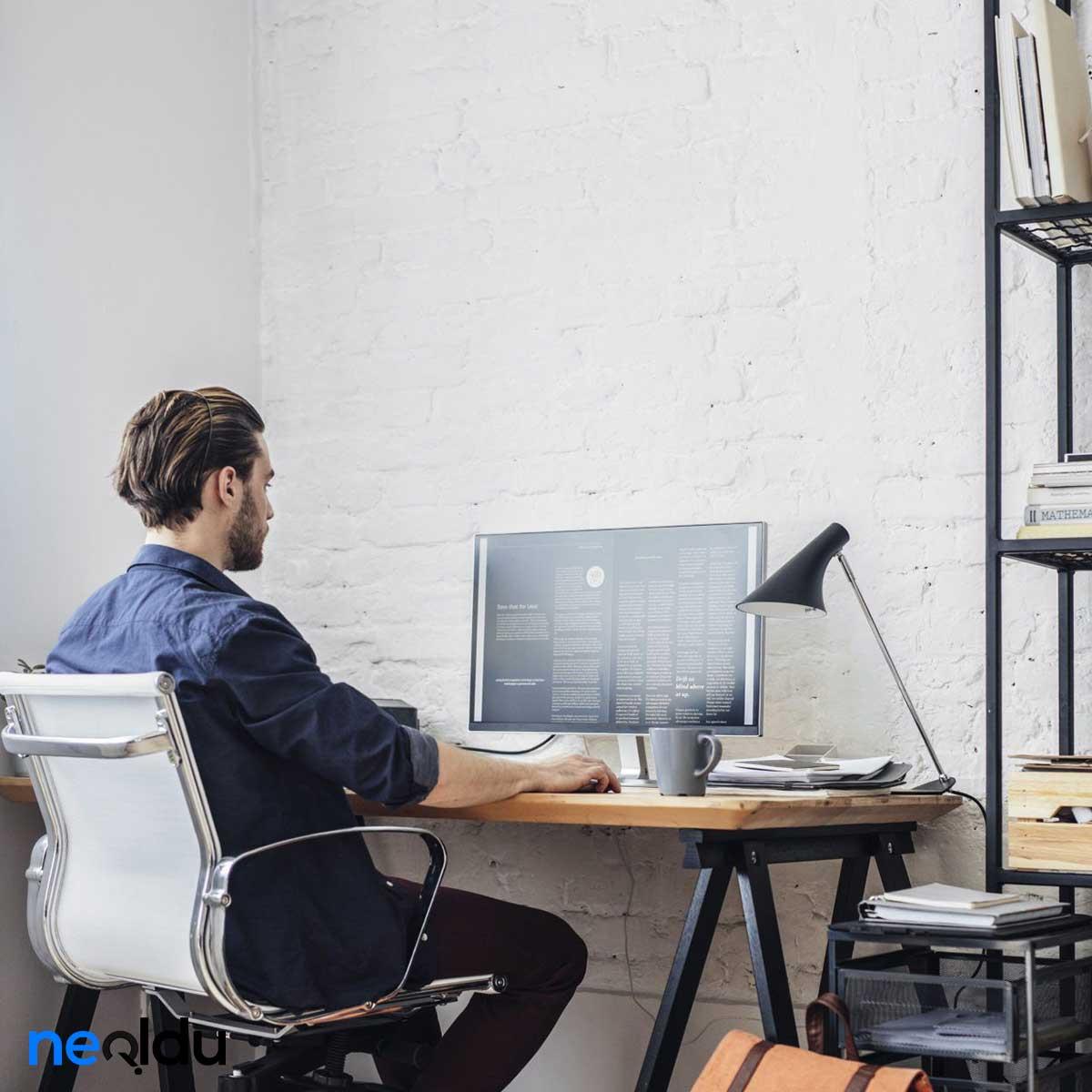 Ofiste Yapılabilecek Egzersizler