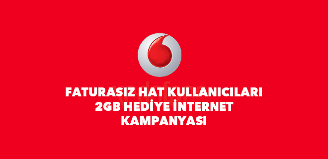 vodafone bedava internet kampanyası 2bg hediye