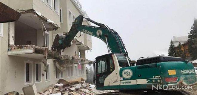 inşaat yıkımı