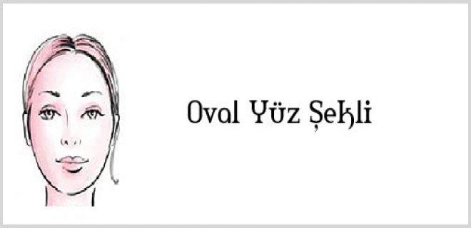 oval yüz