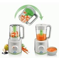 Philips Avent SCF870/22 Buharlı Pişirici ve Blender Wasabi
