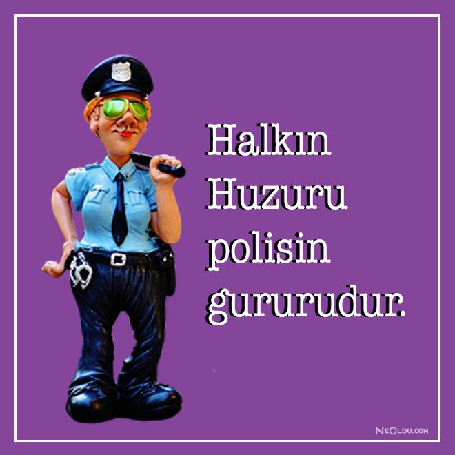Polisler ilgili sözler