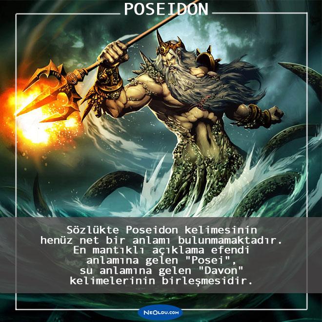 Poseidon Hakkında İnanılmaz Bilgiler