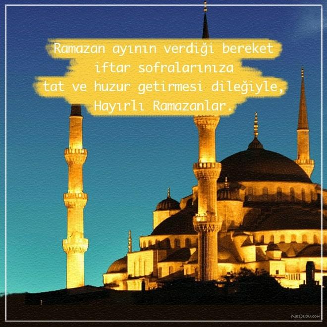 ramazan ayı sözleri