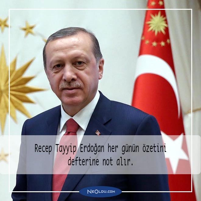 Recep Tayyip Erdoğan Hakkında İlginç Bilgiler