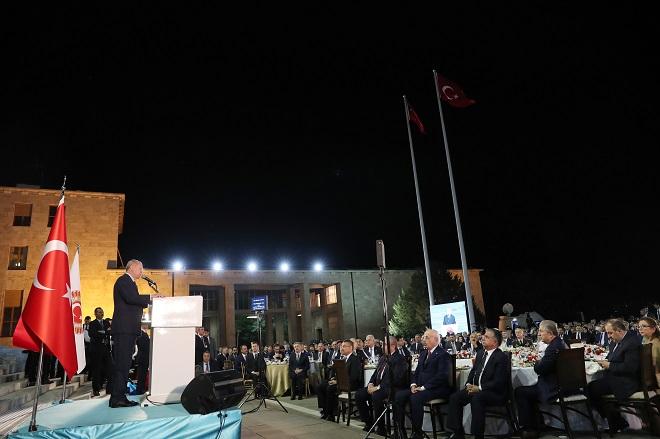recep tayyip erdoğan iftar yemeği