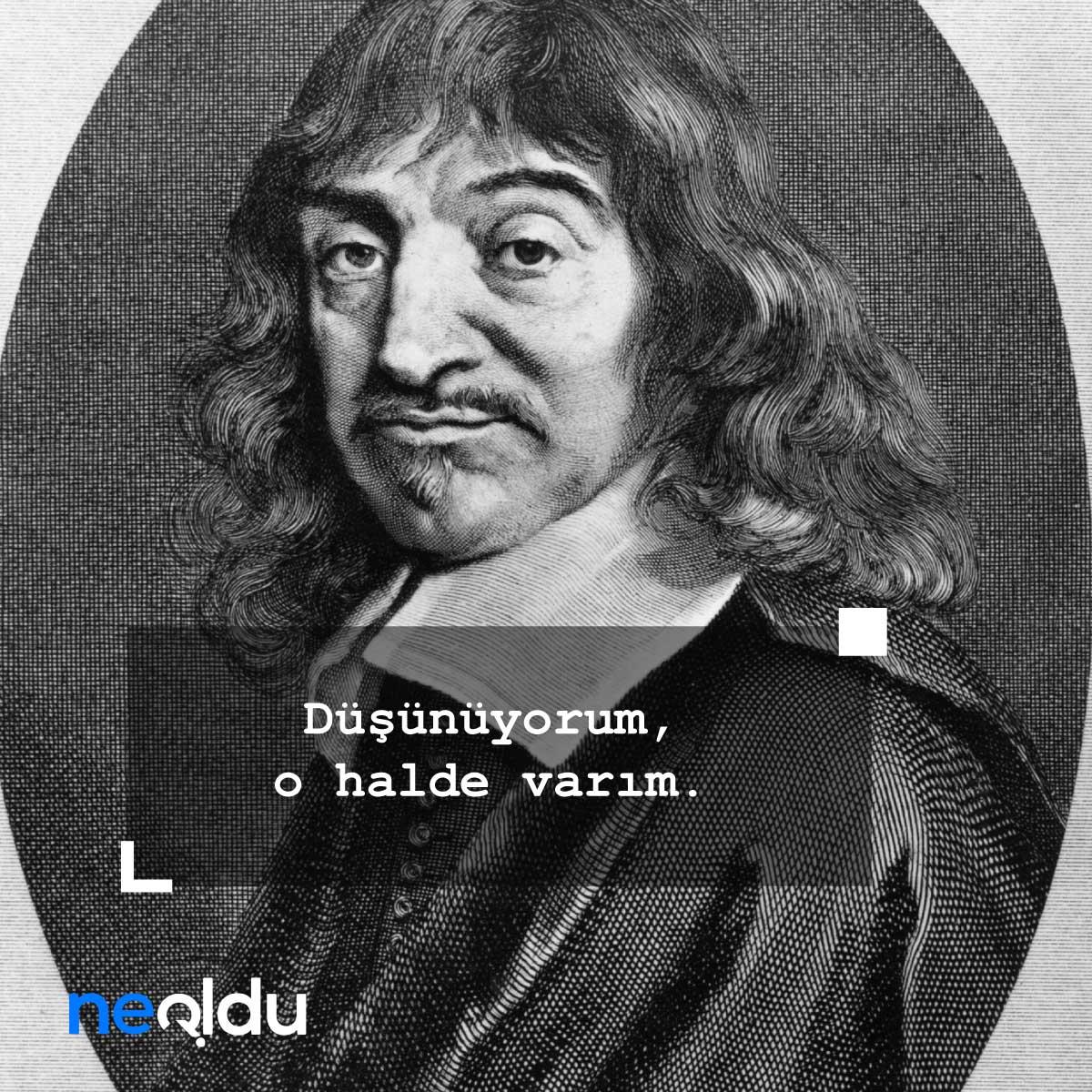 Descartes Sözleri